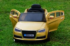 Audi Q7 Style 12V Ride On Car For Kids with Remote Control | Gold