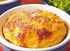 Entre Platos (Recetas): Souffle de zanahoria y jamón