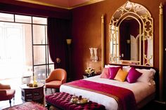 Taj Marrakech, love colors, especially the walls!