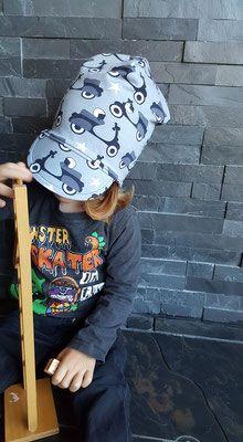 Sommermützen FREEBOOK: Lybstes Beanie mit Schirm! - Lybstes. Baseball Hats, Beanie, Summer, Baseball Caps, Caps Hats, Beanies, Baseball Cap, Snapback Hats, Beret