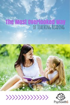 The Most Overlooked Way of Teaching Reading