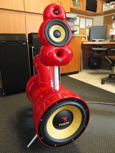 My Custom focal driven speakers.... The Hydrant 2.2 with powered subs