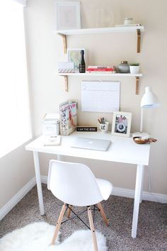 Bedroom Update Home Decor Home Office Space Room Decor Home Office Space, Home Office Design, Home Office Decor, Office Ideas, Desk Ideas, Home Decor, Office Designs, Study Room Decor, Cute Room Decor