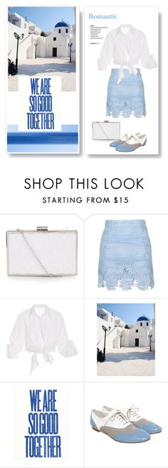 """""""Romantic blue"""" by lilieshomeandgarden ❤ liked on Polyvore featuring New Look, Topshop, Johanna Ortiz, GAS Jeans and romantic"""