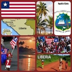 Liberia, West Africa - they were very pro-American when I was there in the 60's