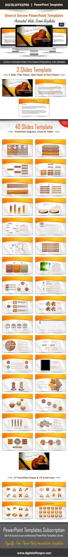 Eye PowerPoint Template Backgrounds Shape, Set of and Backgrounds - divorce templates