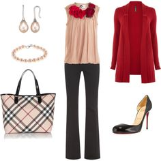 Pretty in pink and red.  Totally impractical and outrageous, but I could really rock it.