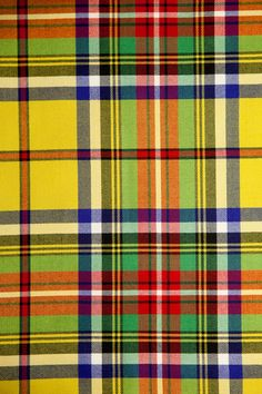 Meacham Tartan  Stripe, Wool, Fabric by Scot Meacham Wood Design