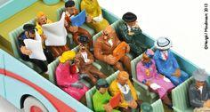 Bus Swissair Tintin