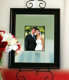 Unique Wedding Signature Mat and Frame Wedding Guest Book ---> This is kind of neat it's a silver plated frame that guests sign with a diamond stylus
