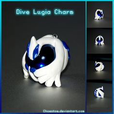 Dive Lugia Charm by *Choestoe on deviantART
