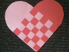 Heart Weaving- I remember making this as a kid and being AMAZED