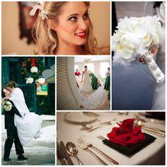 christmas themed wedding matrimonio a natale