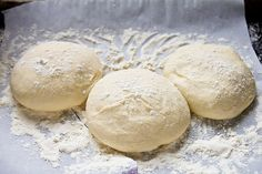 Homemade Pizza Crust!!!  You can start it in the morning and finish in the evening :-).