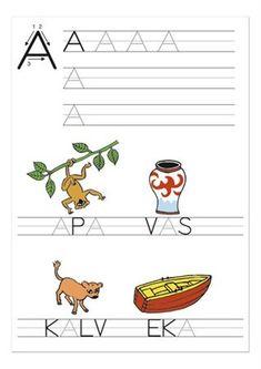 Swedish Language, Best Teacher, Family Kids, Alphabet, Worksheets, Activities For Kids, Homeschool, Teaching, Writing