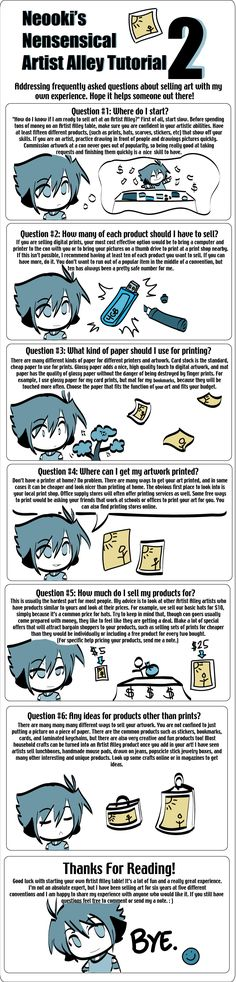 The Artist Alley Tutorial 2 by neooki23