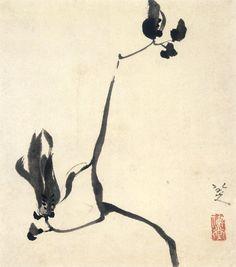 Zhu Da (朱耷, aka Bada Shanren-八大山人, Chinese, ca.1626-1705)   Ink Magnolia