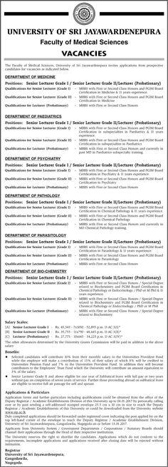 Medical Laboratory Technologist at Sri Jayewardenepura General - medical technologist job description