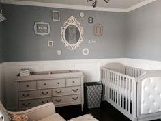 Project Nursery - Bluish Gray Elegant Nursery