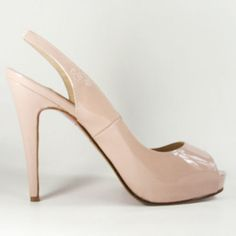 Rose high heeled shoes