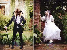 Labyrinth inspired wedding shoot