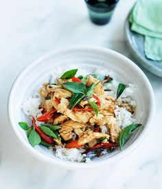 This quick and easy Thai stir-fry packs a spicy punch. Use fresh chilli - it will make all the difference.