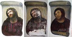 「世界最悪」のキリスト画修復、オペラに スペイン 写真3枚 国際ニュース:AFPBB News