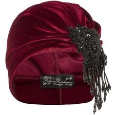 The Future Heirlooms Boutique Vivien Asymmetrical Velvet Turban