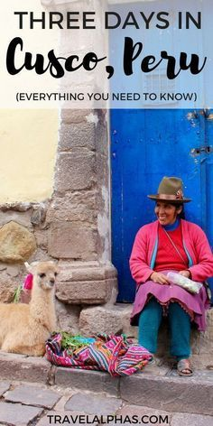 Are you planning to travel to Cusco, Peru? This itinerary divulges the best things to do, eat, and see during your trip to Cusco. We also include some practical information, to make sure your trip runs smoothly! Machu Picchu, Cusco Peru, Equador, Peru Travel, Solo Travel, Italy Travel, Inca, South America Travel, Outdoor Travel