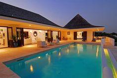 Glamorous holiday villa in Anguilla