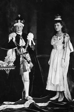 Prince Edward, Later King Edward VIII and Princess Mary, Princess Royal