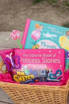 Easter basket ideas for kids and parents a book to read together easter basket ideas for girly girls get these books or similar here negle Image collections