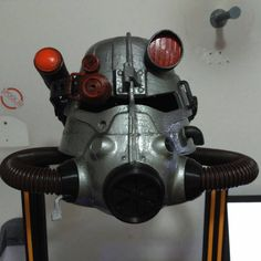 Excited to share the latest addition to my #etsy shop: T45 Powered Armor Helmet | Fallout 3 Helmet | Fallout 3 Cosplay Armor | Fallout Cosplay Helmet #toys #cosplay #costume #larp #roleplay https://etsy.me/2EACwcZ
