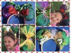 Minnie Ears Little Mermaid - Tinkerbell #TLM #LittleMermaid #Tinkerbell #Disney #MinnieEars