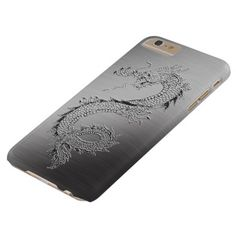 Vintage Dragon Brushed Metal Look Barely There iPhone 6 Plus Case Iphone 6 Plus Case, Iphone 8 Cases, Iphone 7, Brushed Metal, 6s Plus, Vintage Shops, Dragon, Iphone Seven, Dragons