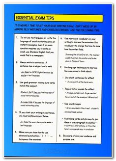 Expository Essay Ideas, Writing Guidelines, and Test Essays