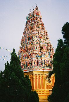 Indian Temple - Malaysia #spaces #indian #culture #temple #life #heritage #traditional