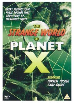 THE STRANGE WORLD OF PLANET X aka THE COSMIC MONSTERS 1958