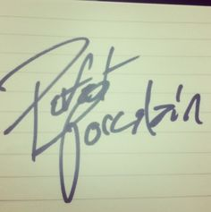 Perfect porcelain - Josh's handwriting. I would love to get this tattooed on my ribs!