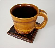 Mug and Coaster Set by GreenLeafStudiosEtsy on Etsy, $18.99