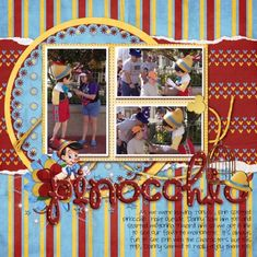 SS_33_Pinocchio - MouseScrappers - Disney Scrapbooking Gallery