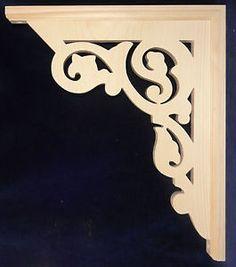 "L G's Ornate Victorian Gingerbread Fretwork Porch Brackets 10"" | eBay"