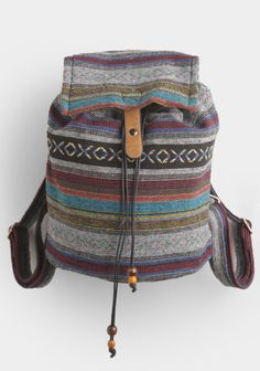 Campout Aztec Print Backpack at #threadsence @ThreadSence