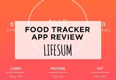 Tracking meals on your phone? Read my review of the app Lifesum and see if it's right for you!