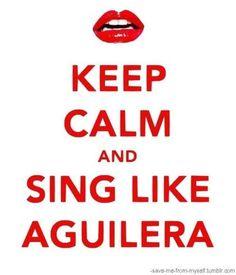 Sing like Christina Aguilera