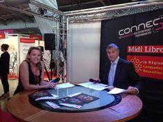 Silvia était interviewée par Karim Maoudj en direct pour Midi Libre TV ! #ConnecSud #Montpellier #MidiLibre