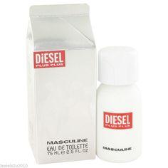 Diesel Plus Plus Masculine Eau De Toilette Spray 75 ml New Genuine