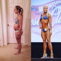 Happy #transformationtuesday my wonderful #fitfam this was my #transformation from February 2015 (4 weeks #postpartum) to April 2017 (at my second #NPC competition the @jaycutlerdesertclassic put on by the wonderful @npc_nv )  I just wanted to take a minute to let you all know that no matter where you are in your journey, it's never too late to accomplish something you set your mind to. I'm not saying it won't come without hard work, dedication and a lot of ups and downs, but I am saying…