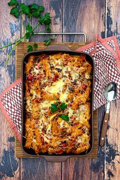 Mexican pasta gratin – Amandine Cooking – Famous Last Words Classic Meatloaf Recipe Easy, Meatloaf Recipe With Cheese, Beef Meatloaf Recipes, Meat Loaf Recipe Easy, Easy Meatloaf, Enchiladas, Vegetarian Mexican Recipes, Mexican Pasta, Cauliflower Soup Recipes