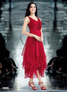 V cyklamenovej farbe, veľkosti 42 a 44 High Low, Dresses, Women, Fashion, Colors, Fashion Styles, Dress, Fashion Illustrations, Gown